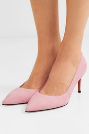 Leigh suede pumps