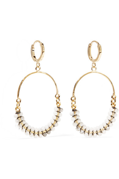 Gold-tone Horn Earrings - one size Isabel Marant