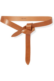 Lecce leather belt