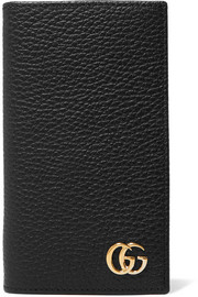 GG Marmont textured-leather iPhone 7 and 8 case