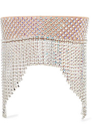 Gucci Fringed crystal-embellished headband