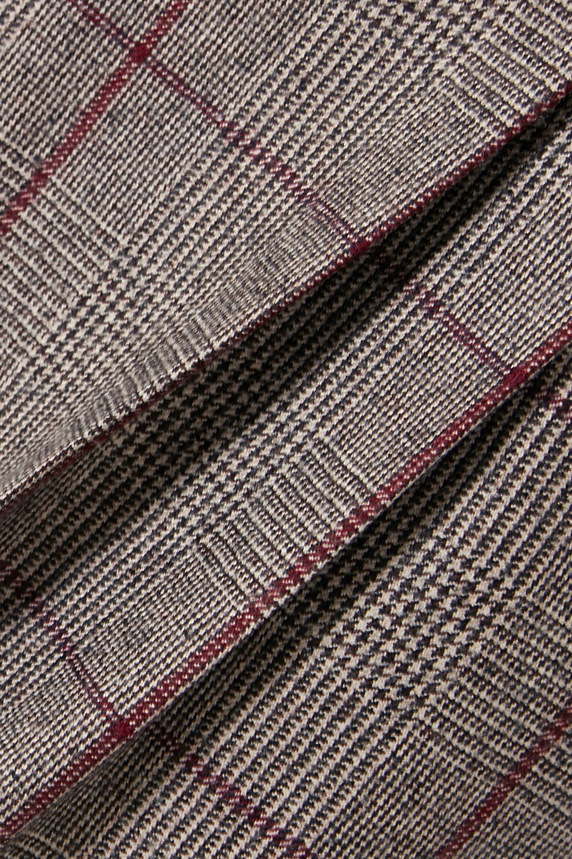 Brunello Cucinelli Wollhose mit Glencheck-Muster
