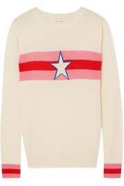 Chinti and Parker Star Crossed intarsia cashmere sweater