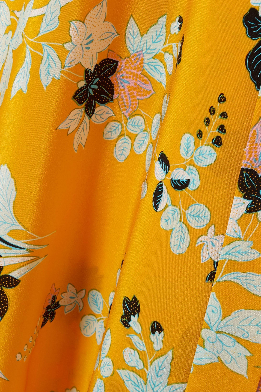 Diane von Furstenberg Eloise floral-print silk wrap dress