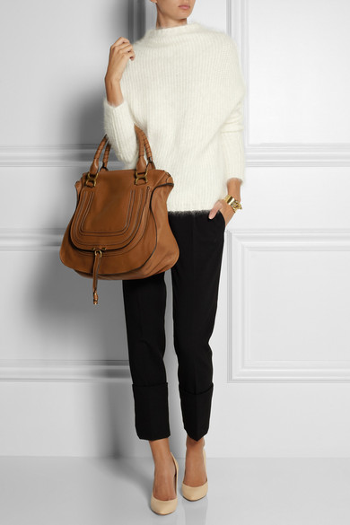 chloe bag replica - Chlo�� | The Marcie large textured-leather tote | NET-A-PORTER.COM