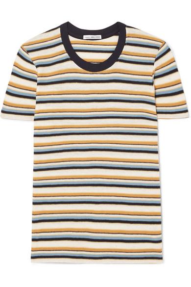 Vintage Boy striped cotton blend jersey T shirt