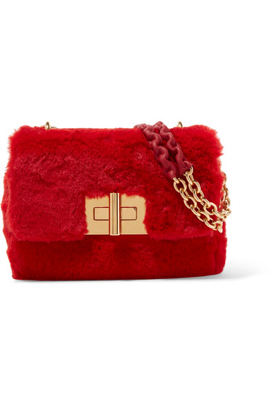 Natalia Faux Fur Shoulder Bag by Tom Ford