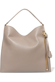 Alix large textured-leather tote