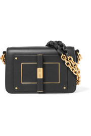 Natalia leather shoulder bag