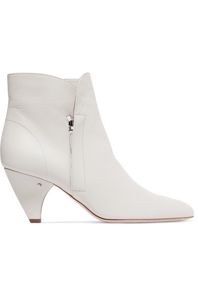 LAURENCE DACADE STELLA LEATHER ANKLE BOOTS