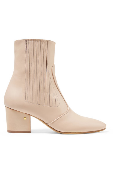 Ringo Leather Ankle Boots by Laurence Dacade