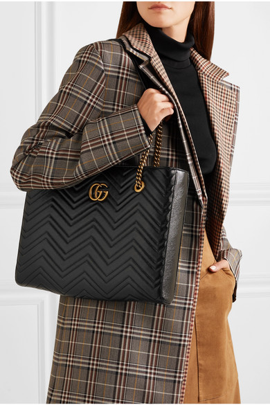 a163907bddc Gucci. GG Marmont medium quilted leather tote.  2