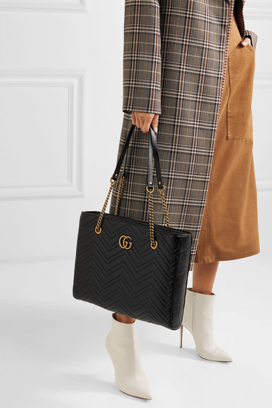 381a2fcdba69 Gucci | GG Marmont medium quilted leather tote | NET-A-PORTER.COM