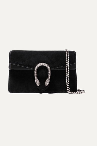 780e94affd Dionysus super mini suede and leather shoulder bag