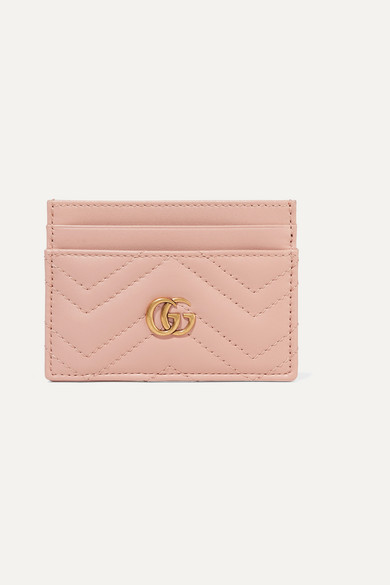 9d0d54aac04f Gucci | GG Marmont quilted leather cardholder | NET-A-PORTER.COM