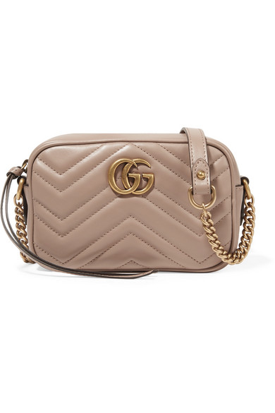 8dfb46e2cda Gucci. GG Marmont Camera mini quilted leather shoulder bag