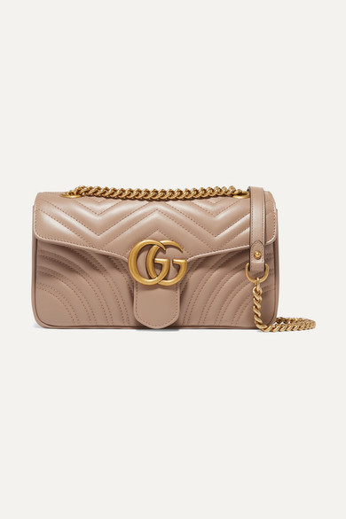 52a953d07e5 Gucci. GG Marmont small quilted leather shoulder bag