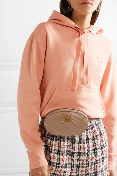 b97b987e577 GG Marmont quilted leather belt bag