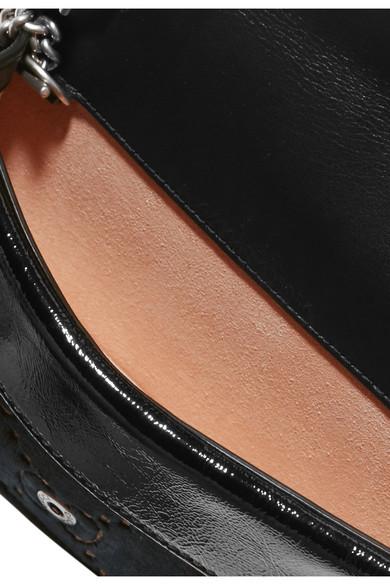 a43cfcb78c3f Gucci. Dionysus super mini patent leather-trimmed embossed velvet shoulder  bag. £620. Zoom In