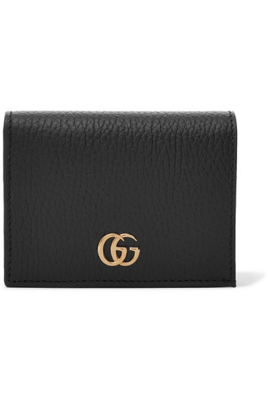 be2f64c59324 Gucci | Marmont Petite textured-leather wallet | NET-A-PORTER.COM
