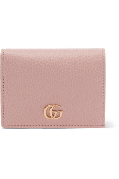 5b7f11f433d3 Gucci | Marmont Petite textured-leather wallet | NET-A-PORTER.COM