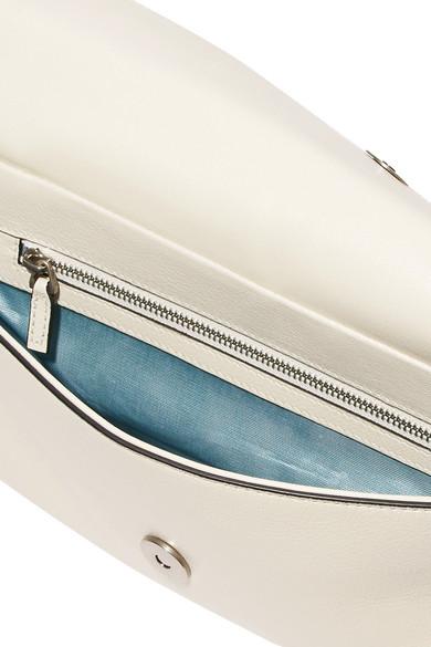 04c9b91c45d Thiara embellished printed leather shoulder bag.  3