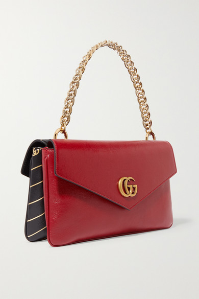 1ca403d3ff0 Gucci. Thiara embellished printed leather shoulder bag