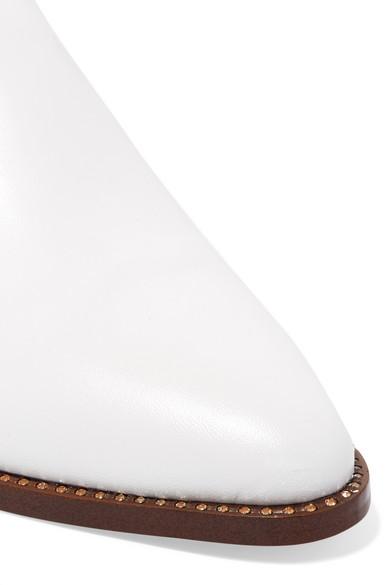 Sam Edelman | Slippers mit aus Leder mit Slippers Kristallverzierung d5d69f