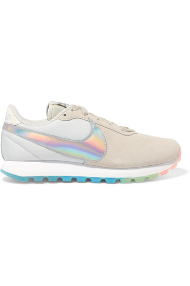 on sale 93750 4399a Nike   Pre-Love O.X. suede and canvas sneakers   NET-A-PORTER.COM