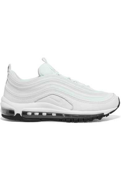 5cdf5f4843f8 Nike. Air Max 97 leather and mesh sneakers