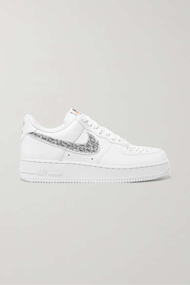 Nike   Air Force Leder 1 '07 Sneakers aus Leder Force 869bcb