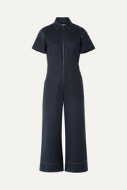 Morrison cotton-blend jumpsuit