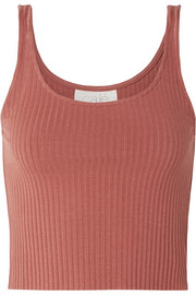 calé Gigi ribbed stretch-knit tank