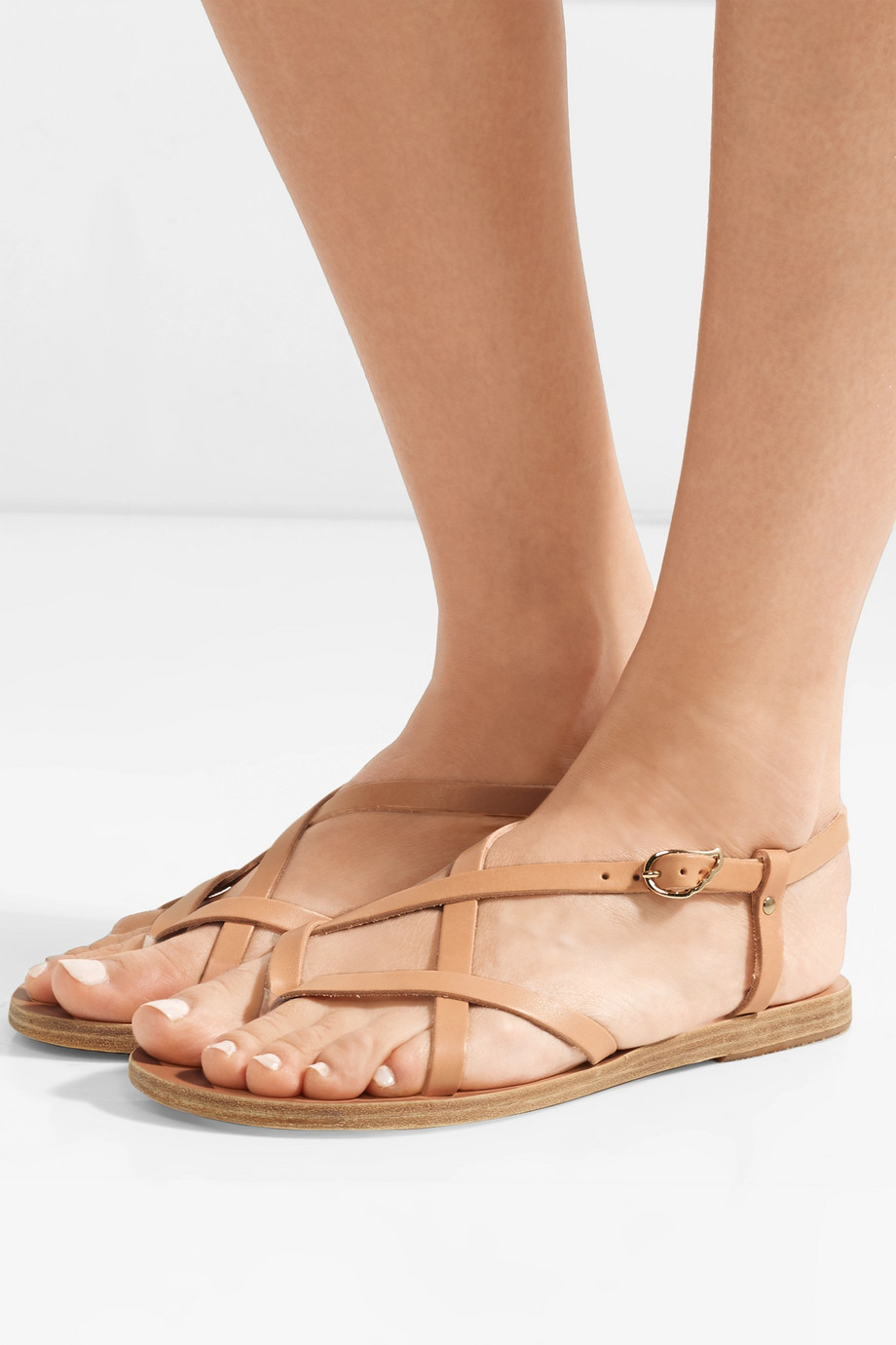Ancient Greek Sandals Semele Sandalen aus Leder