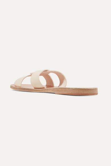 Ancient Greek Sandals | mit Desmos Pantoletten aus Leder mit | Cut-outs dd590e