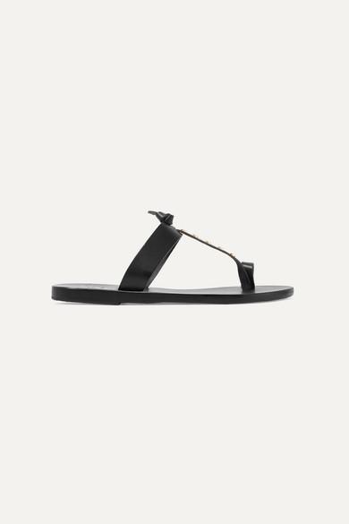 Ancient Greek Sandals | Melpomeni Ledersandalen Nails nietenverzierte Ledersandalen Melpomeni 1797a7