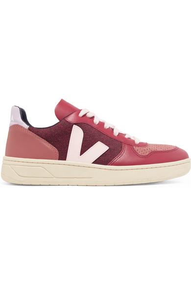 V-10 aus Sneakers aus V-10 Leder, Veloursleder und Tweed 5e190d