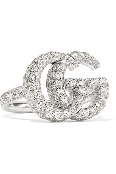 1eab4799b23bf9 Gucci ring GUCCI ring pairing GG icon white gold 073230-09850-9000 # 18  (issue # 19) Jewelry Accessories Womens mens Unisex (for both men and women)