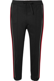 Gucci Striped jersey track pants