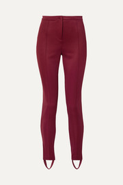 Gucci Tech-jersey stirrup leggings