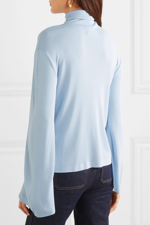 Khaite Clarice stretch-knit turtleneck sweater