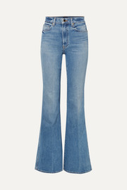 Khaite Reece high-rise flared jeans