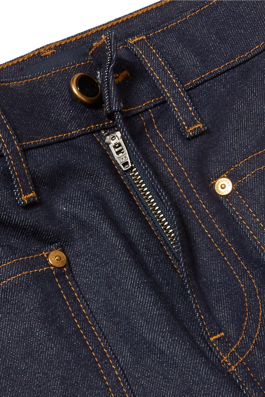 Khaite Raquel cropped high-rise flared jeans