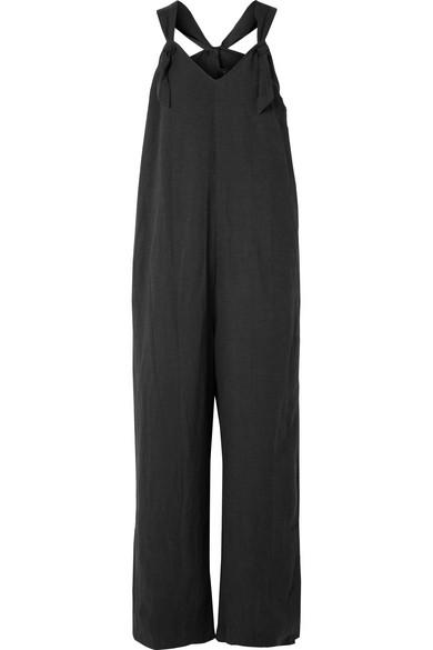HATCH Noa linen-blend jumpsuit