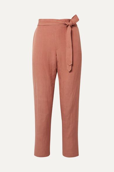 HATCH Venice linen-blend pants