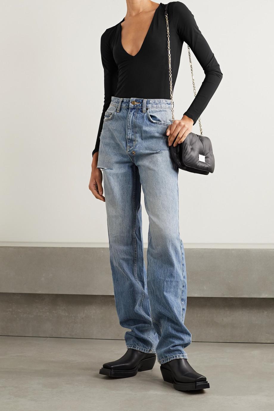 Alix NYC Irving 弹力平纹布连体丁字裤式紧身衣