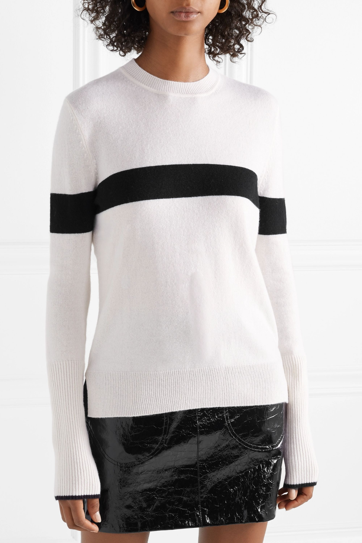La Ligne Striped cashmere sweater