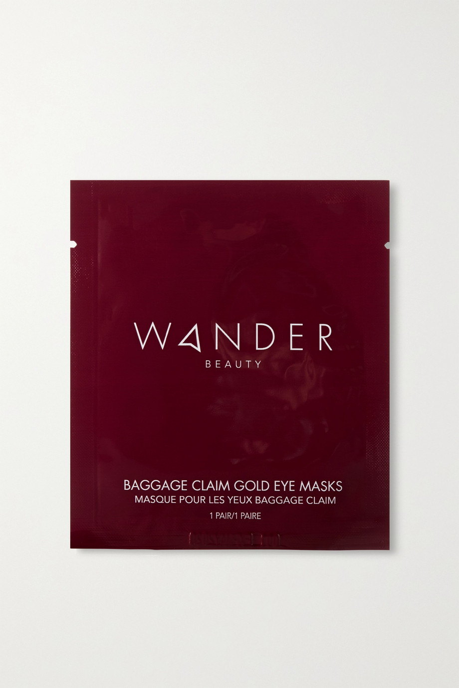 Wander Beauty Masque pour les yeux Baggage Claim x 6