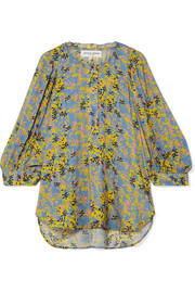 APIECE APART Everlasting printed voile blouse