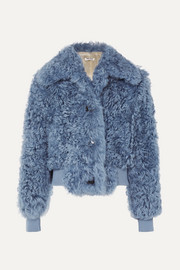 Miu Miu Cropped shearling jacket